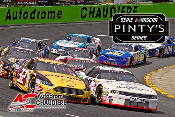 Première étape Québécoise NASCAR PINTY'S : À l'autodrome Chaudière samedi 1b10