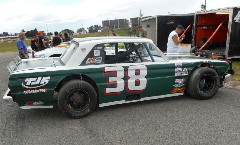 Tour de chauffe en NASCAR Vintage avec Louison Lapierre 1louis11