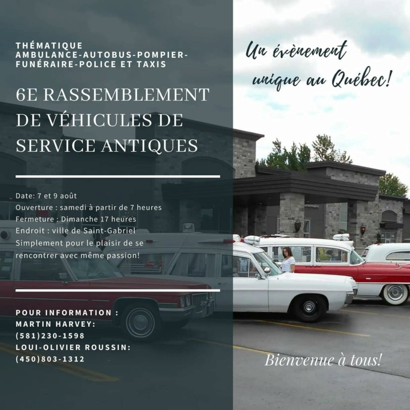 6e Rassemblement de véhicules de service anciens - 7 & 8 août 2021 1servi10