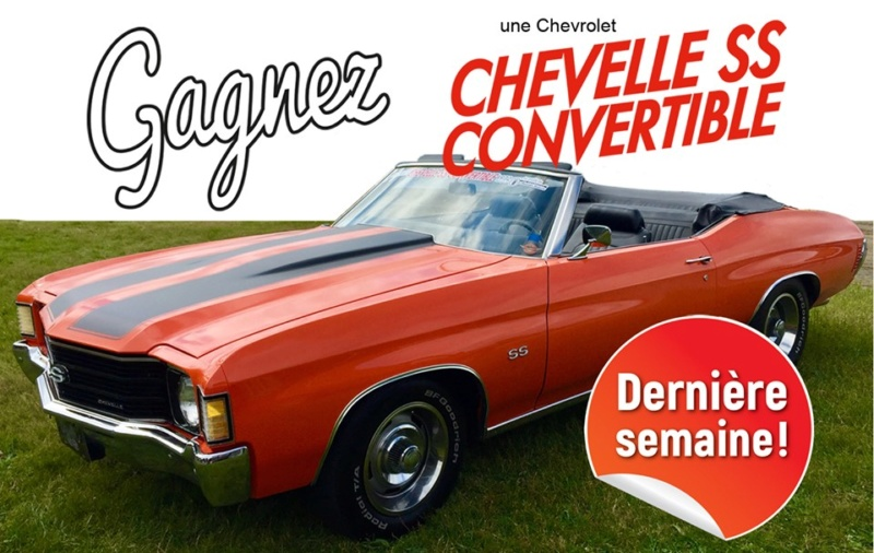 scoop scoop  tirage chevelle ss  clone 1972 20chev10
