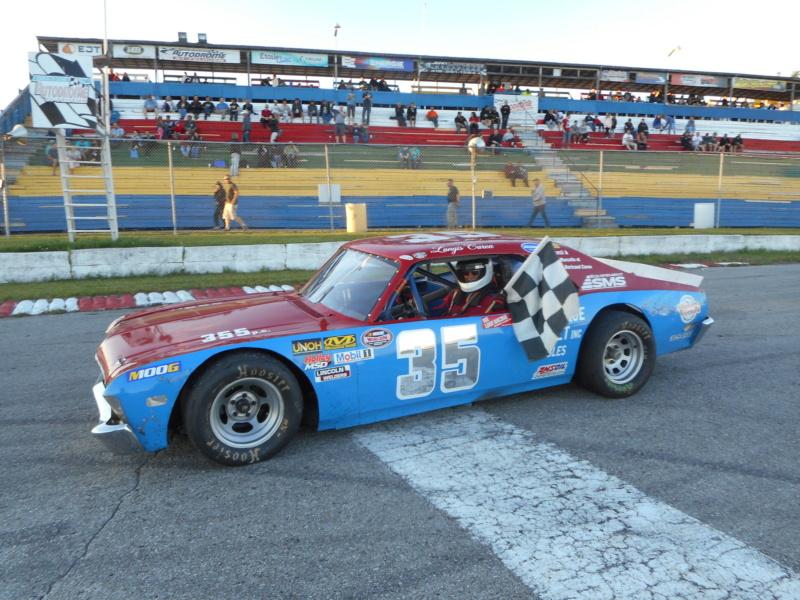 NASCAR Vintage : Langis Caron #35 35-110