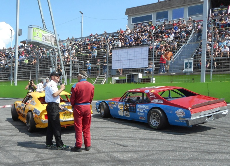 NASCAR Vintage : Langis Caron #35 35-210
