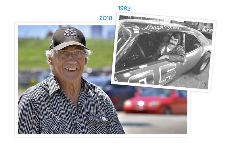 Tour de chauffe en NASCAR Vintage avec Langis Caron 35lang10