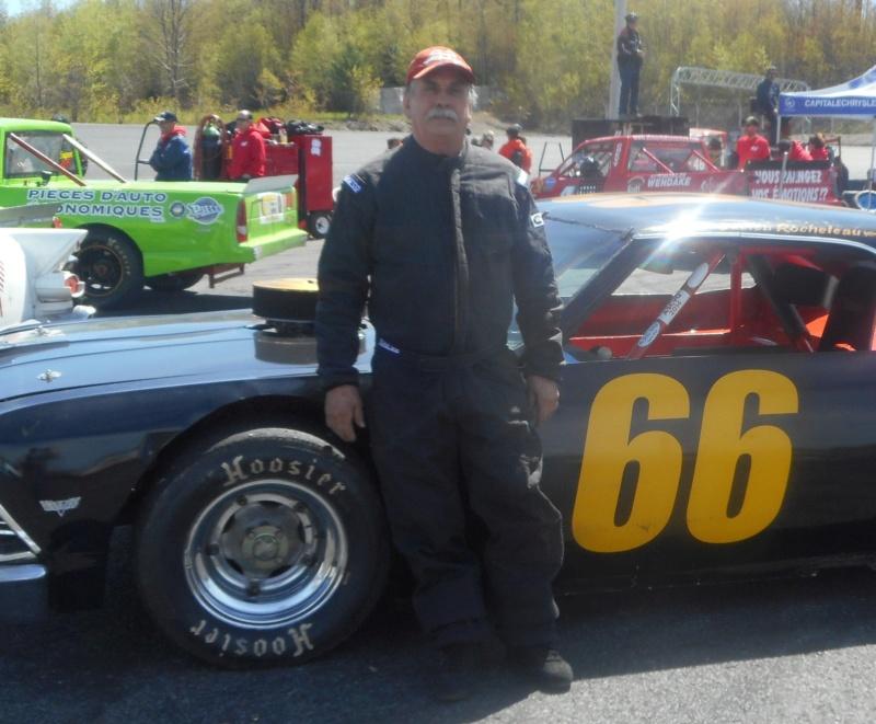 Tour de chauffe en NASCAR Vintage avec Lucien Rocheleau 66luci10