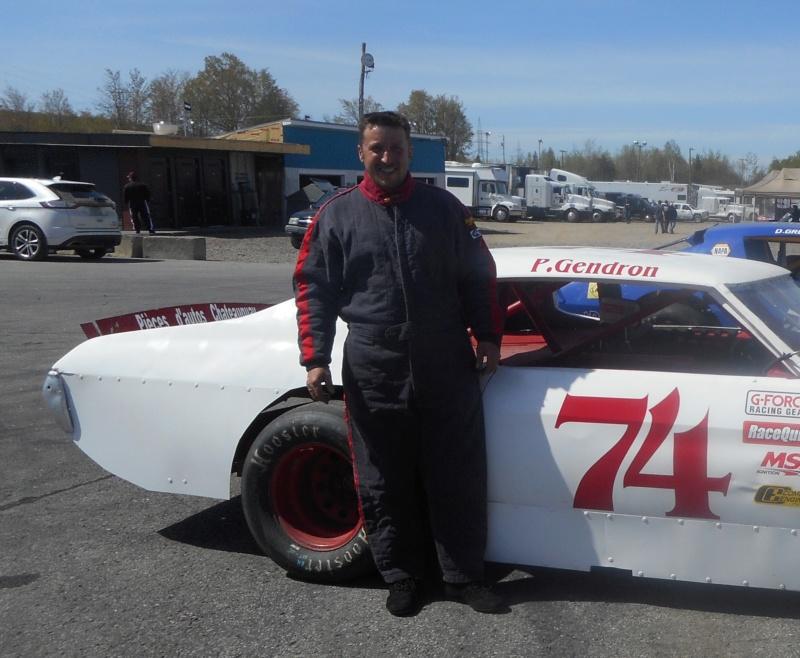 Tour de chauffe en NASCAR Vintage avec Patrick Gendron 74patr10