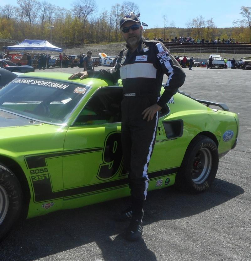 Tour de chauffe en NASCAR Vintage avec Claude Ouellet 92clau10