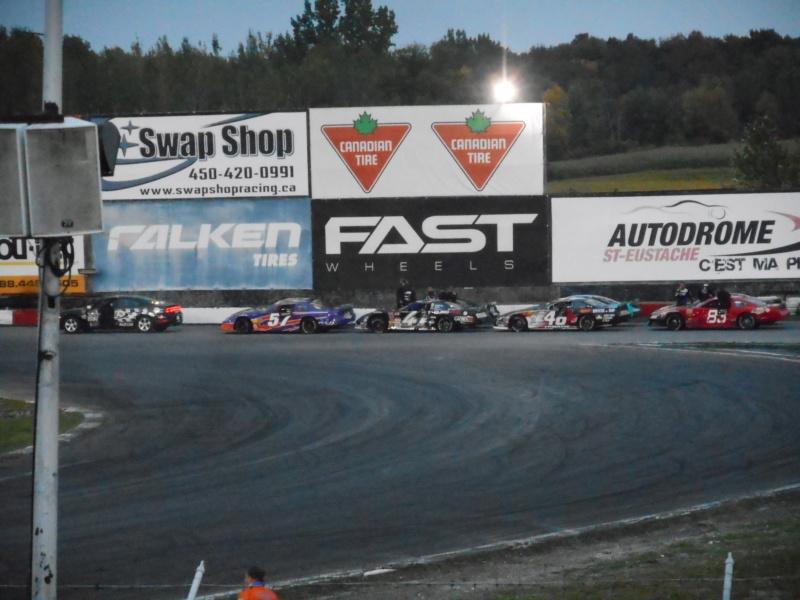 Dernière course de l'autodrome St-Eustache Adieus85