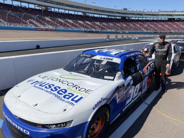 COMMUNIQUÉ - Cinquième course pour Labbé en NASCAR Xfinity en 2020 à Atlanta ce week-end! Alexla11