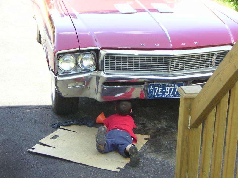 Sieges d'enfants et voiture ancienne Antoin10