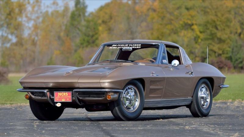 "Mecum Kissimmee 2020 : Corvette ""big tank"" 63  C31e5310"