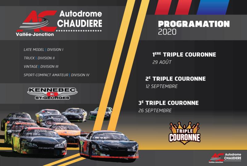 LA TRIPLE COURONNE KENNEBEC REVIENT EN FORCE CETTE SAISON À L'AUTODROME CHAUDIÈRE! Course10