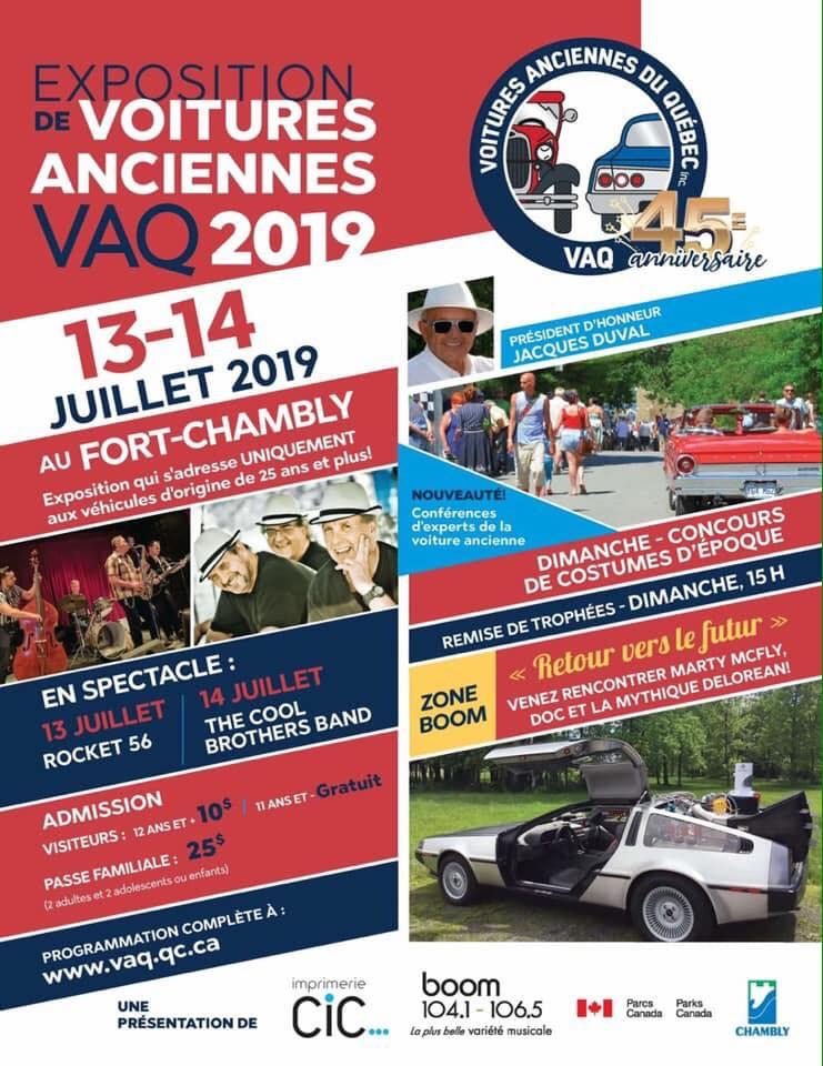 Concours d'élégance de voitures anciennes de Chambly 2019 Expo_c11
