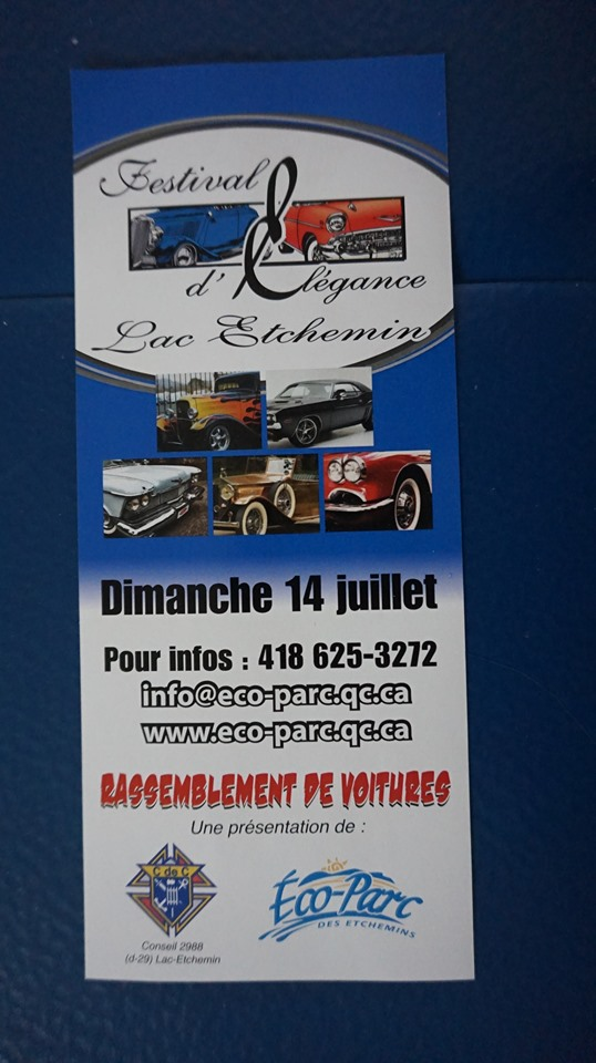 Festival d'élégance de Lac-Etchemin Expo_l15