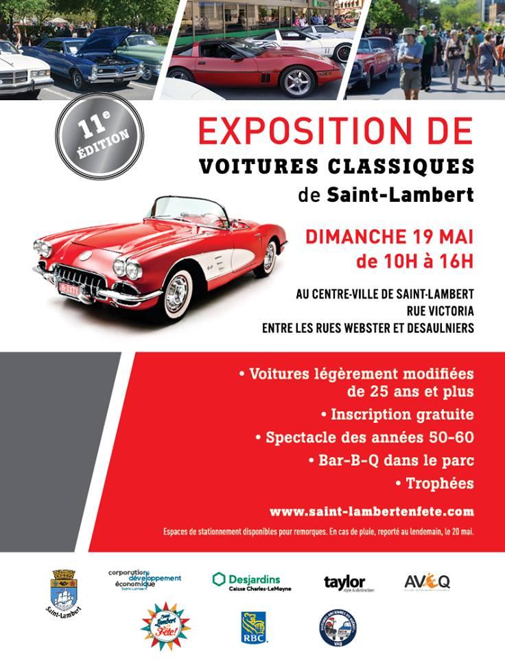 Exposition de voitures classiques - St-Lambert(Mtl) 2019 Expost10