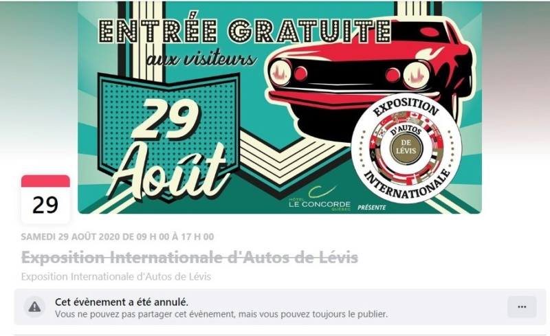 [ANNULÉ]Exposition Internationale d'autos de Lévis - 1 de 3 Levis10
