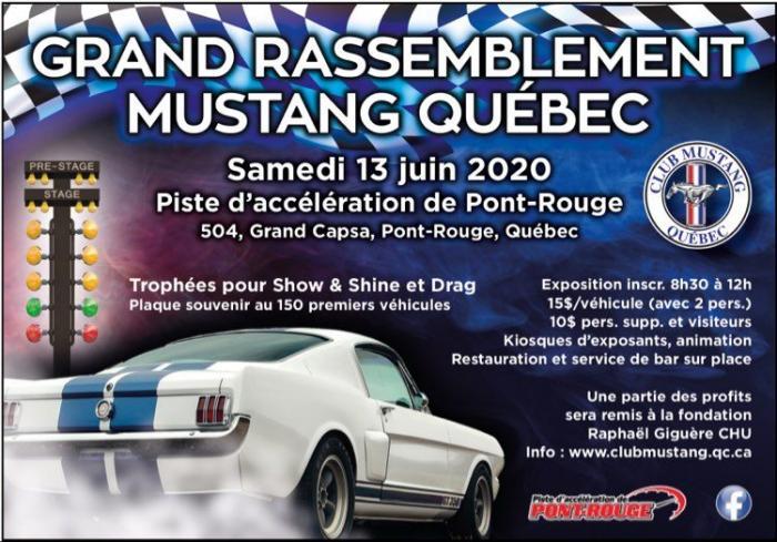 Grand Rassemblement Mustang - Québec Mustan10