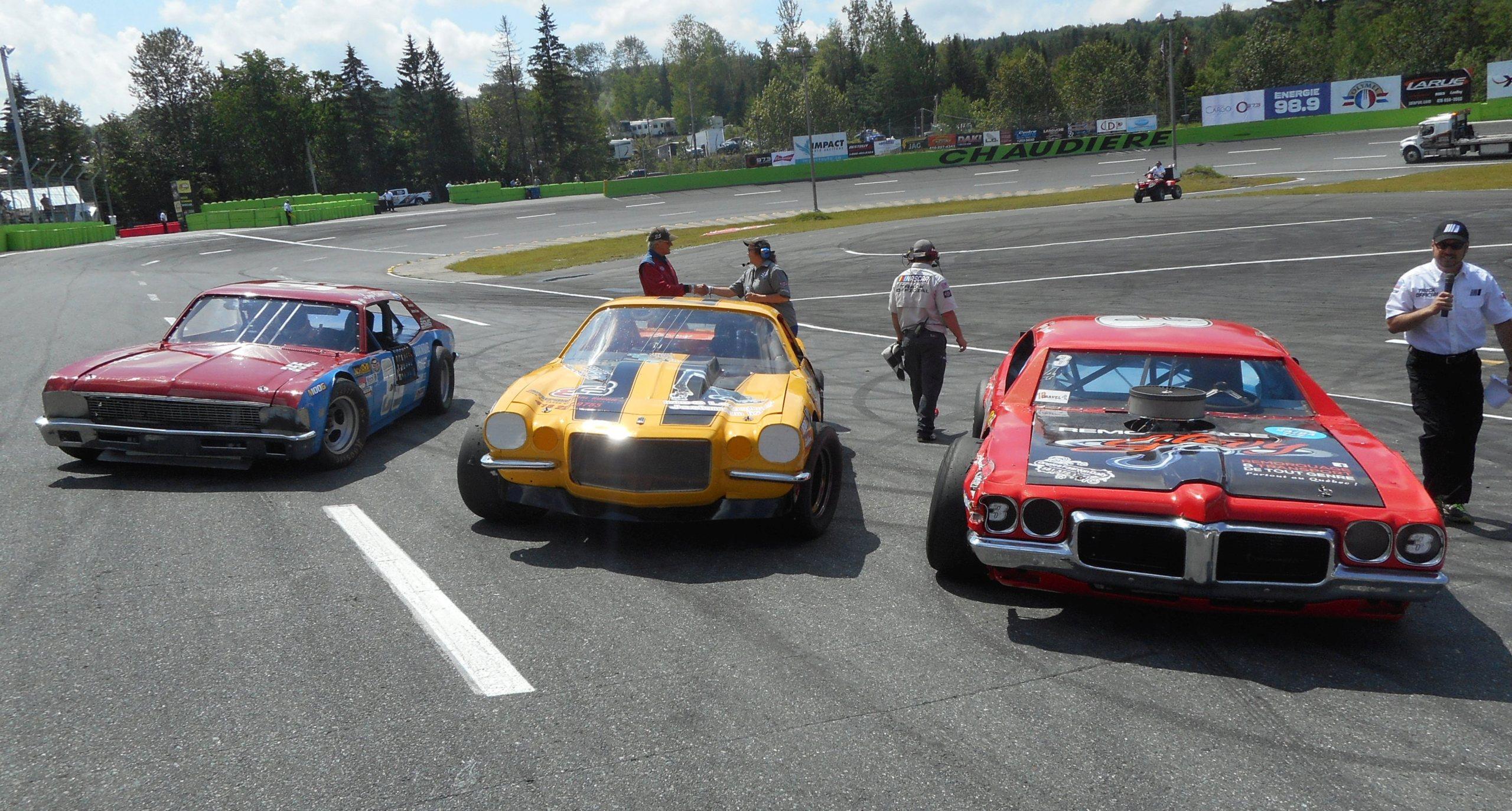 NASCAR Vintage (29 juin)  : 2 en 2 ....  Podium11
