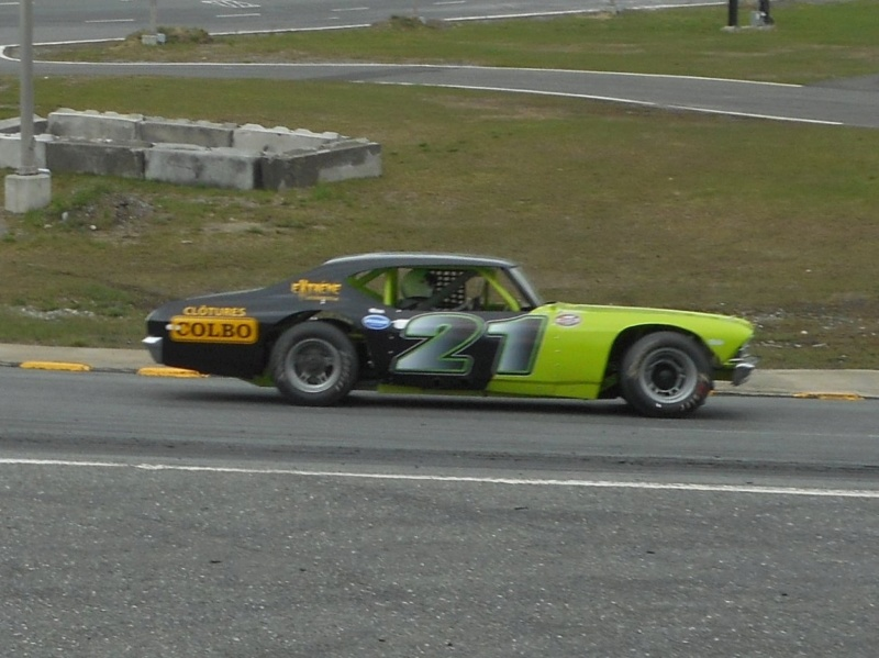 Tour de chauffe final en NASCAR Vintage Prati122