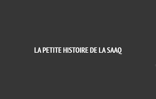 Historique de la SAAQ Saaq110