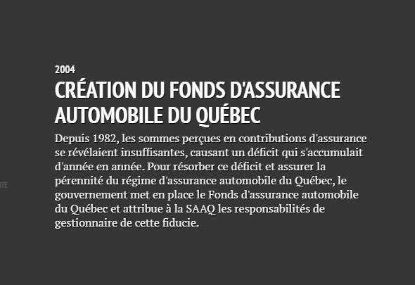 Historique de la SAAQ Saaq1910