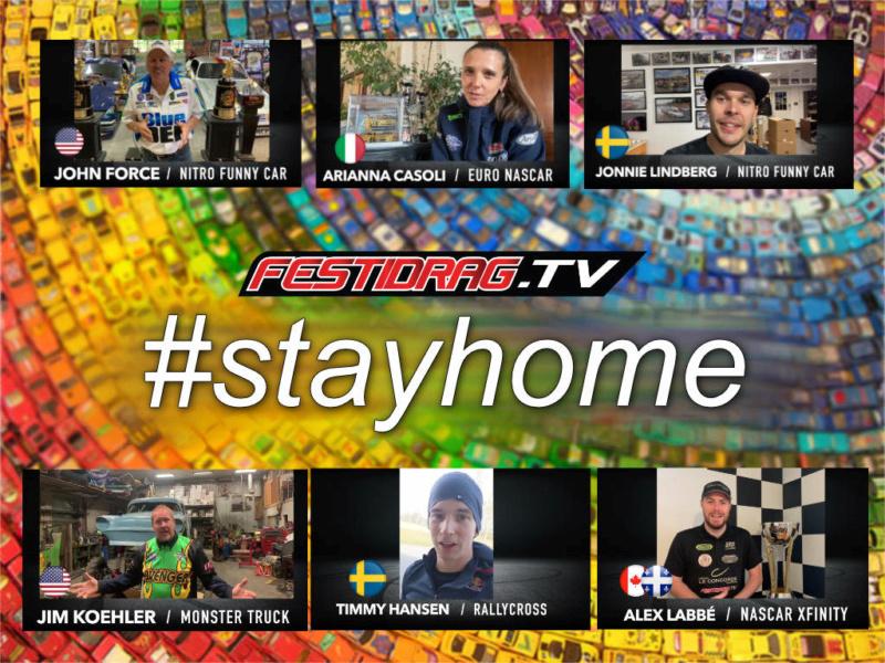 COMMUNIQUÉ - Festidrag lance un mouvement planétaire! Sauvons notre passion, restons à la maison! #stayhome Stayho10