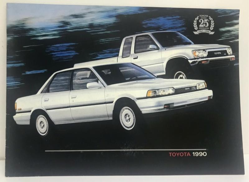 Brochures vintage Totoya Toyota13
