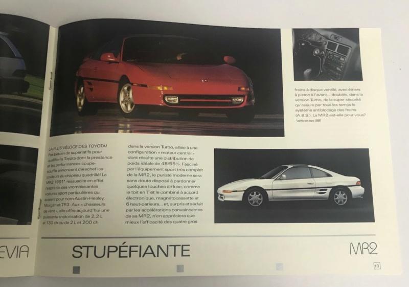 Brochures vintage Totoya Toyota16