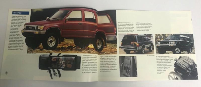Brochures vintage Totoya Toyota17