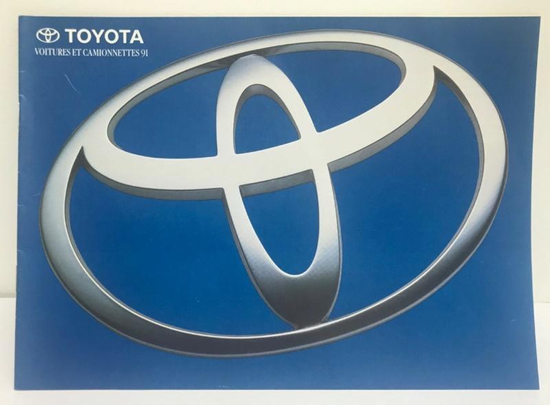Brochures vintage Totoya Toyota18