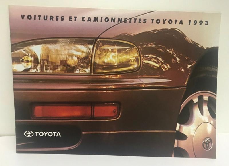 Brochures vintage Totoya Toyota19
