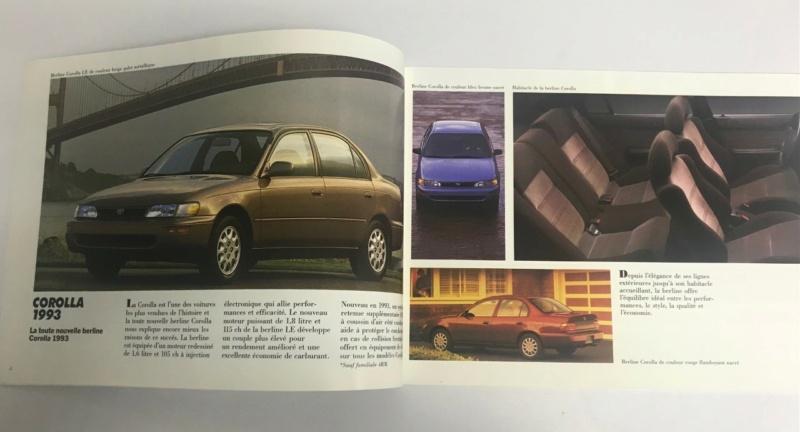 Brochures vintage Totoya Toyota21