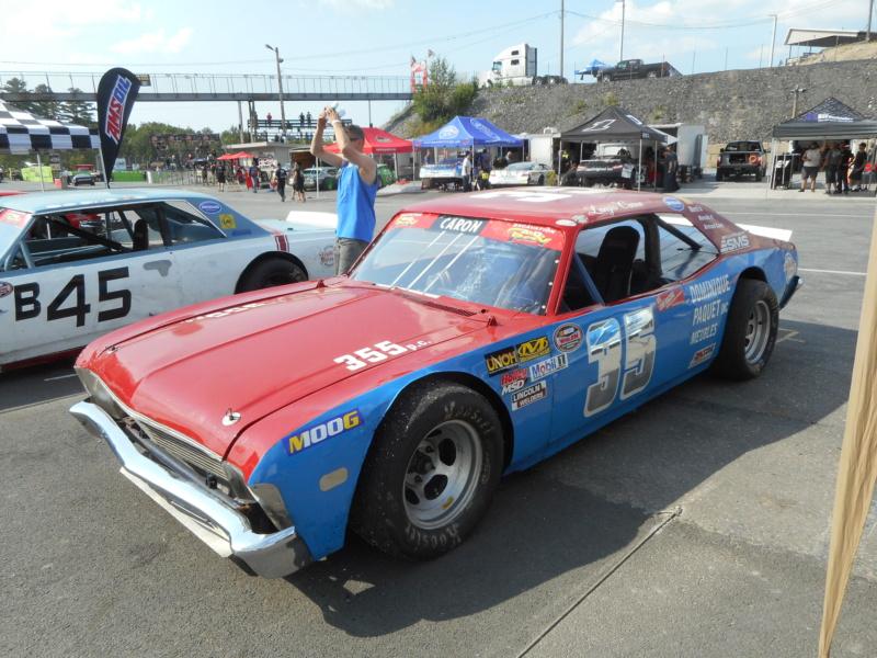 La série NASCAR Vintage de retour en piste ce samedi 3 août !!  Vintag49