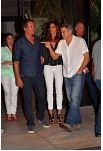 George Clooney At joe's Stone crab in Miami Feb 16  Cloone13