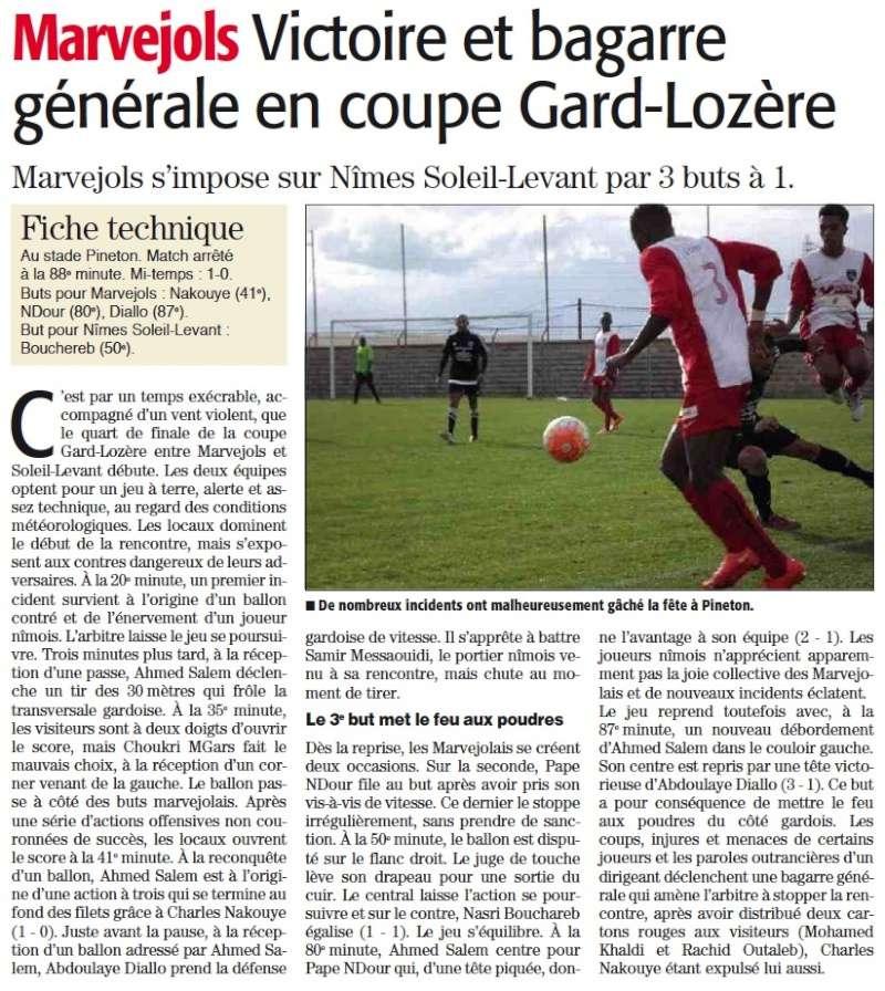 1/4 finale Coupe Gard-Lozère Couple10