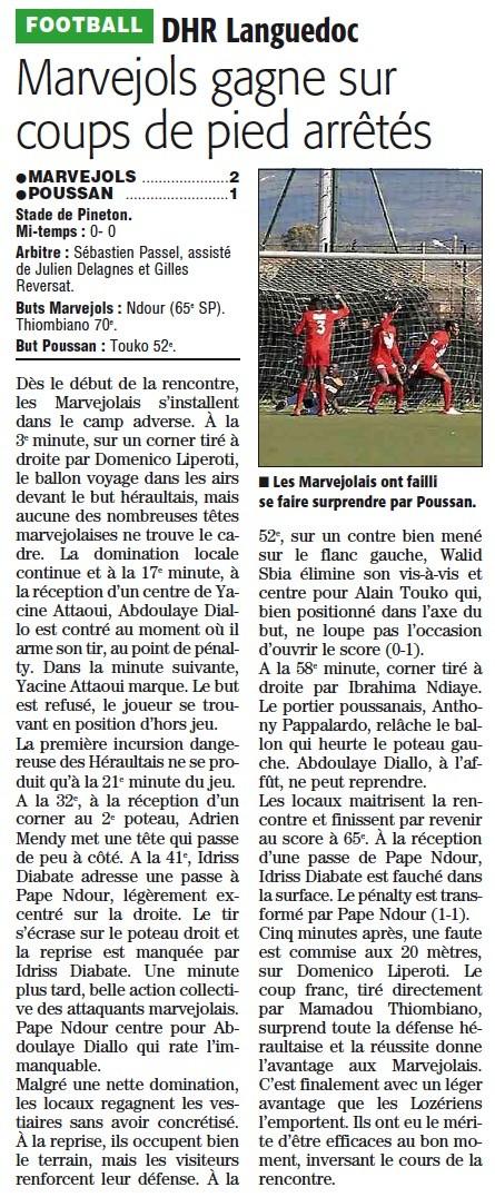 MARVEJOLS / Poussan Poussa12