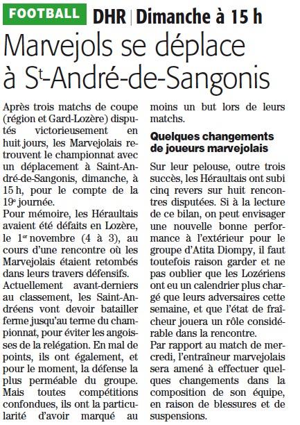 St André de Sangonis / MARVEJOLS Stas10