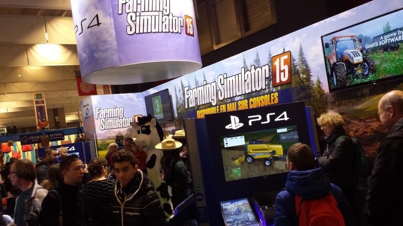 Farming Simulator Partenaire Officiel du Salon de l'Agriculture 2016 20150210