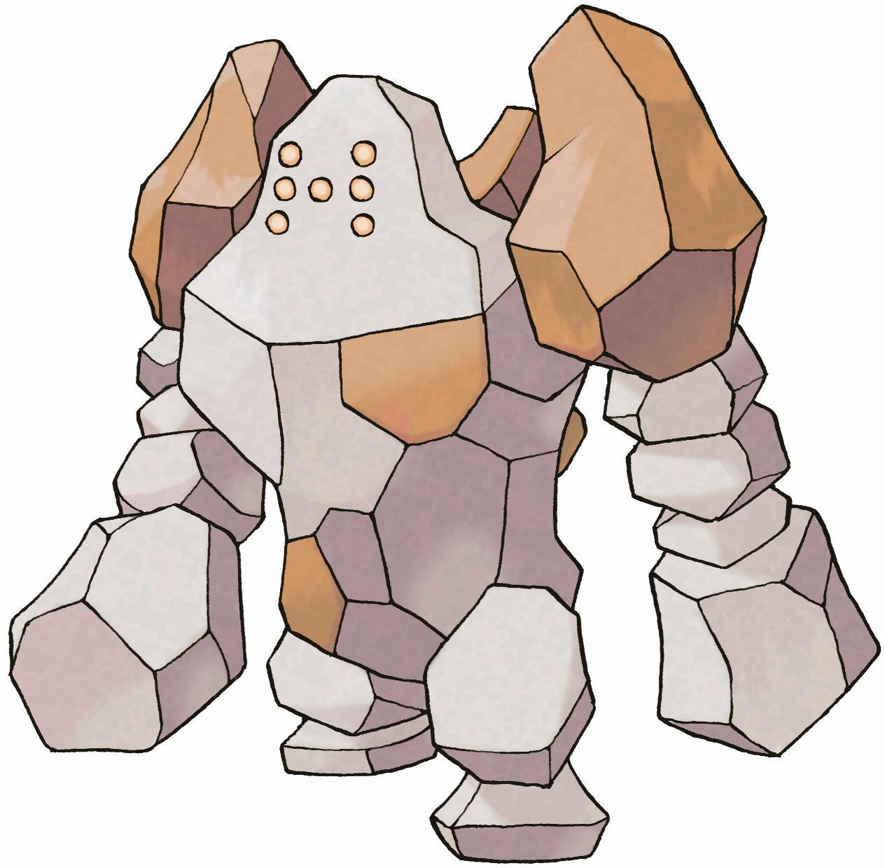 Banque Pokémon - Le trio légendaire Regirock, Regice et Registeel offert ! 377_re10