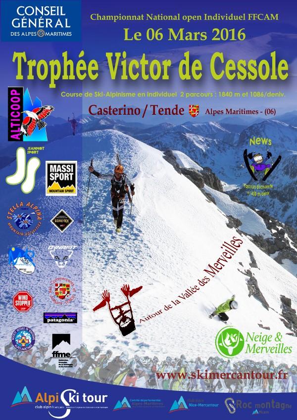 CHALLENGE VICTOR de CESSOLE - 11° EDITION DIMANCHE 6 Mars Affich10
