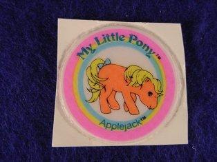 Stickers vendu avec les petits poneys  Applej12
