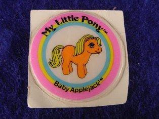 Stickers vendu avec les petits poneys  Baby_a11