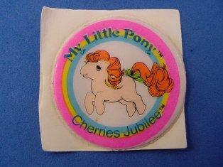 Stickers vendu avec les petits poneys  Cherri10