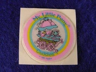 Stickers vendu avec les petits poneys  Cuddle11