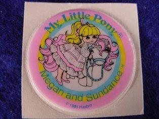 Stickers vendu avec les petits poneys  Megan_11