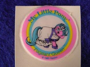 Stickers vendu avec les petits poneys  Pagean10