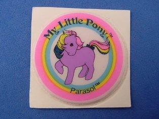 Stickers vendu avec les petits poneys  Paraso10