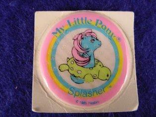 Stickers vendu avec les petits poneys  Splash10