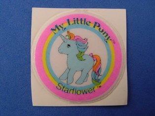 Stickers vendu avec les petits poneys  Starfl10