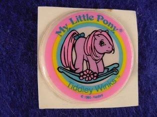 Stickers vendu avec les petits poneys  Tiddle11