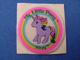 Stickers vendu avec les petits poneys  Windy10